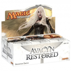 Avacyn Restored booster display Magic Wizards of the Coast | Jeux Toulon L'Atanière