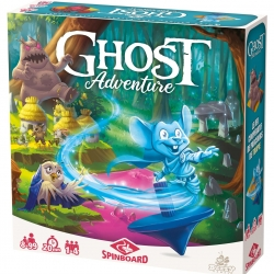 Ghost Adventure boite Buzzy Games Spinboard | Jeux Toulon L'Atanière