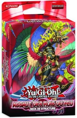 JCC-YGO_Assaut des Rois du Feu – deck