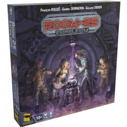 Room 25 escape room boite