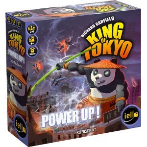 Power Up - extension King of Tokyo - boite - Iello - jeux - Toulon - L'Atanière