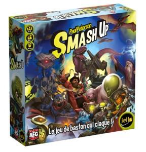 Smash Up - boite - Iello - jeux -Toulon - L'Atanière