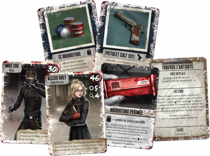 dead of winter cartes