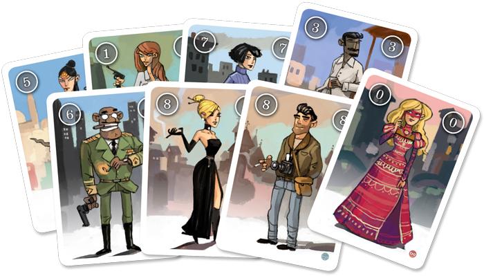 agent hunter cartes