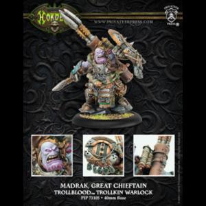 Nouveautés Trollbloods - Madrak Great Chieftain