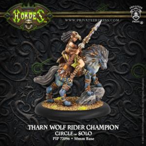 Hordes - Orboros - Tharn Wolf Rider Champion