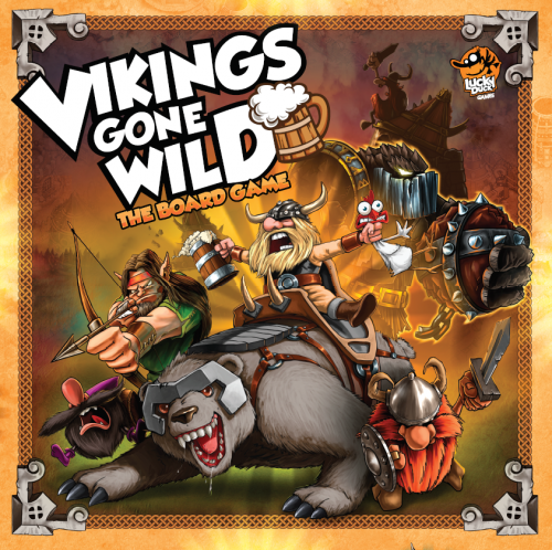 Vikings Gone Wild - couv