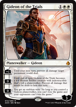 Amonkhet - Gideon
