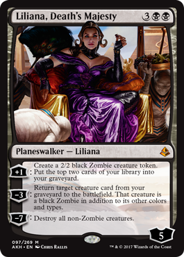 Amonkhet - Liliana
