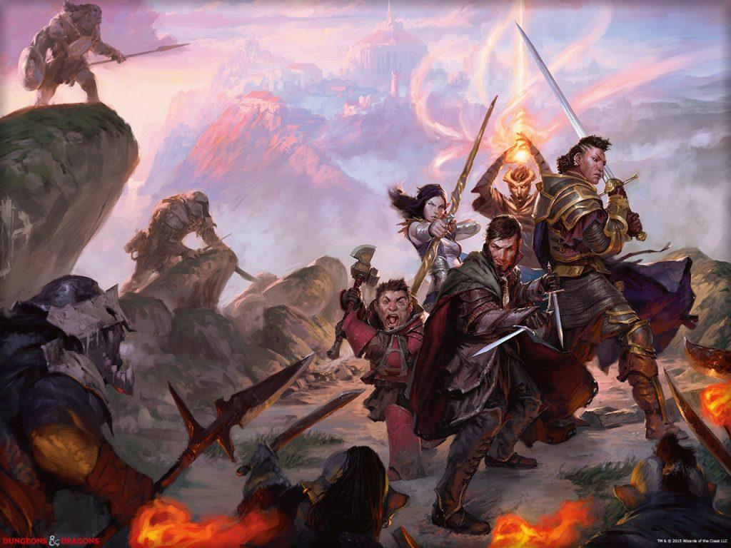 Donjons et Dragons 5 - Aventuriers au combat