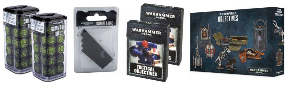 Warhammer 40k V8 - Accessoires
