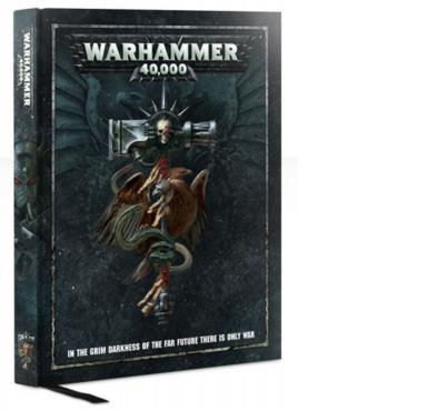 Warhammer 40k V8 - livre de règles (couv rigide)