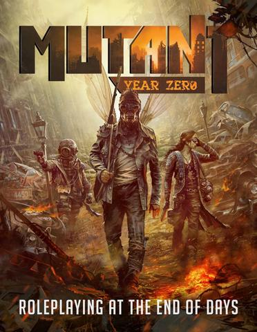 JDR - Mutant Year Zero - cover