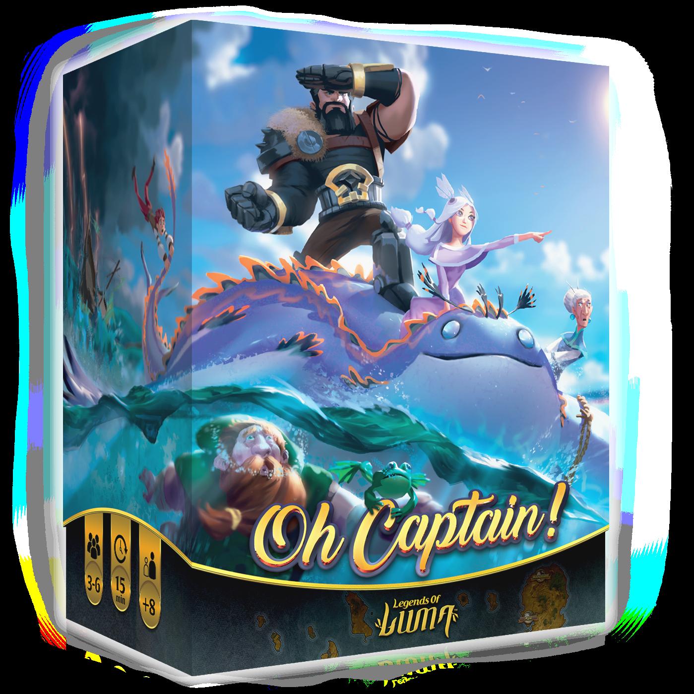 Oh Capitaine - Boite