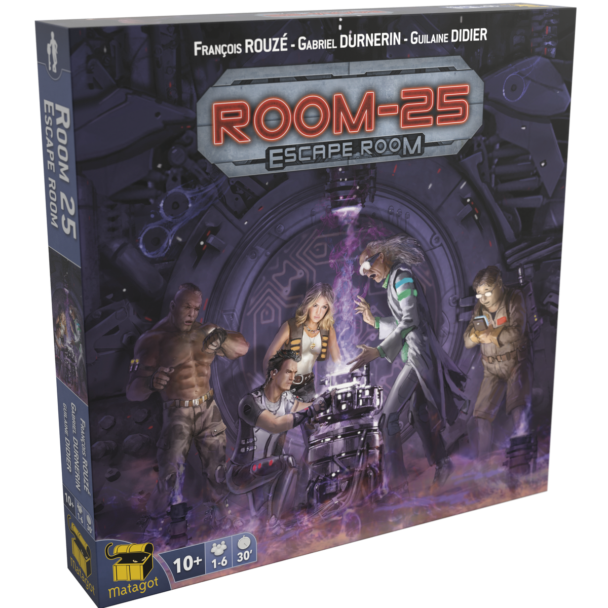Room 25 escape room boite