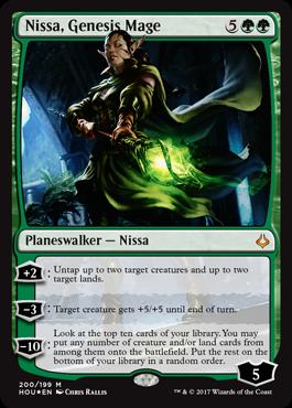 Age de la Destruction - Nissa Genesis Mage
