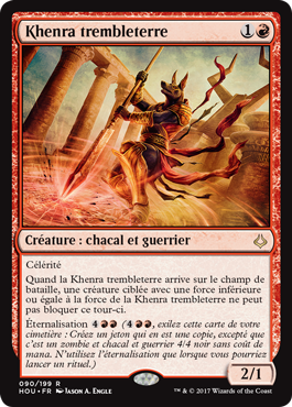 Age de la Destruction - Khenra Trembleterre - L'Atanière -Toulon