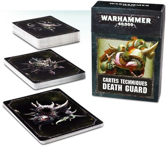 Death Guard - cartes