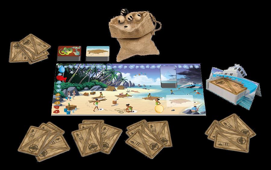 Galérapagos - jeu de société - contenu - L'Atanière - Toulon