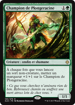 Ixalan - Champion de Plongeracine - Magic - Toulon - L'Atanière