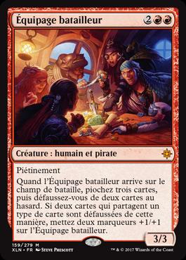 Ixalan - Équipage batailleur - Magic - Toulon - L'Atanière