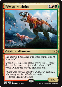 Ixalan - Régisaure alpha - Magic - Toulon - L'Atanière