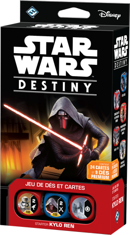 Star Wars Destiny Kylo Ren deck