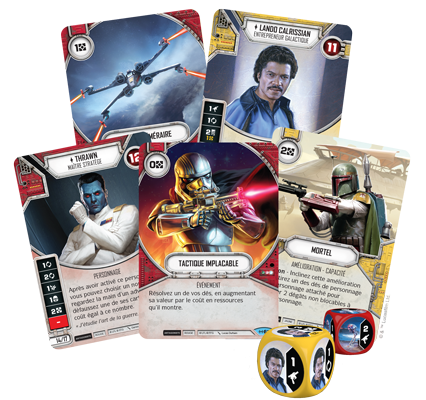 Star wars destiny booster l'empire en guerre in