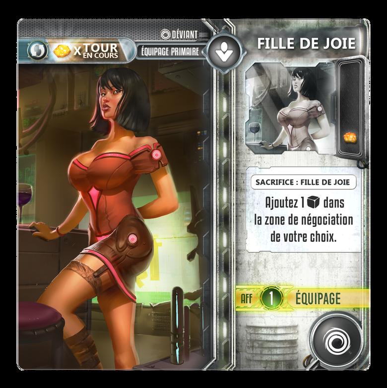 Exodus - Fille de Joie - Déviants - jeu de société - Toulon - L'Atanière