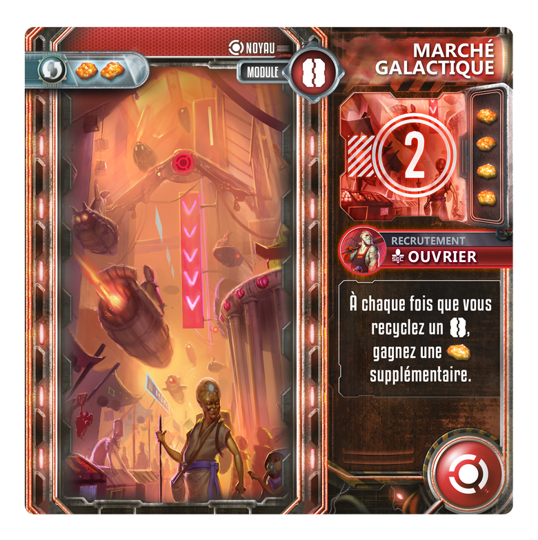 Exodus - Marché Galactique - Noyau - jeu de société - Toulon - L'Atanière