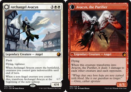 From the Vault Transform Archangel Avacyn jeux Toulon L Atanière