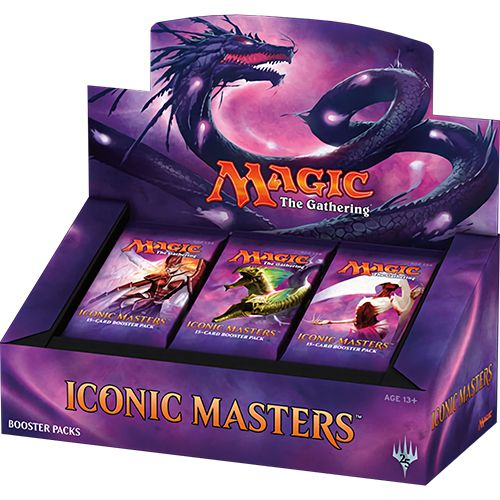 iconic masters booster box jeux-Toulon-L-Ataniere