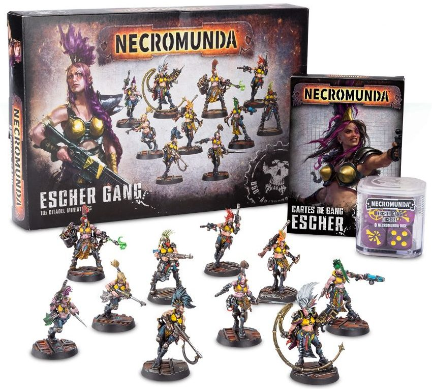 Necromunda escher gang collection jeux Toulon L'Ataniere