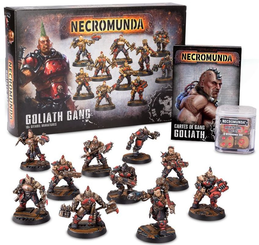 Necromunda goliath gang collection jeux Toulon L'Ataniere