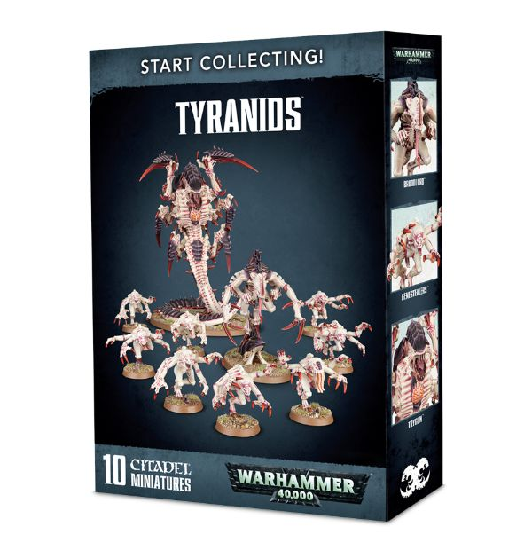 Tyranids 2017 start collecting jeux Toulon L'Ataniere