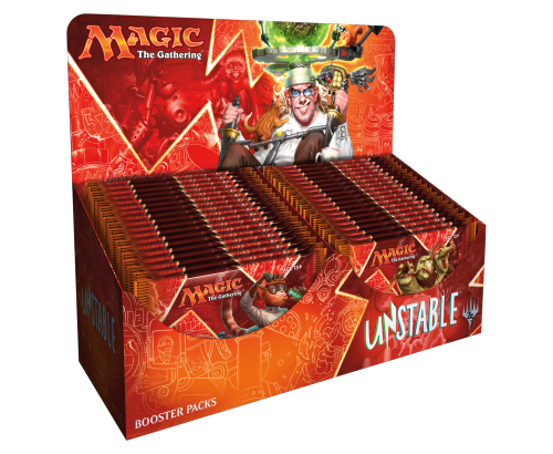 Unstable - boosters display - Magic - jeux - Toulon - L'Atanière