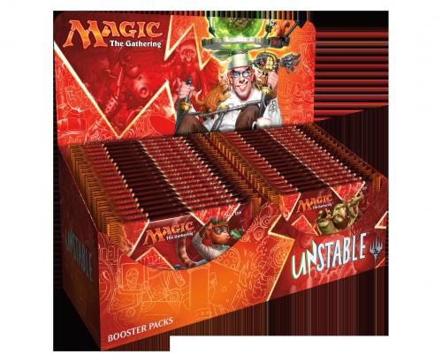Unstable - boosters display - Magic - jeux - Toulon - L'Atanière