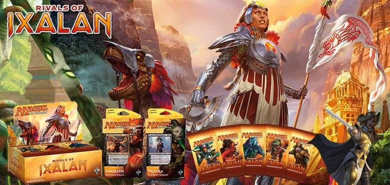 Les Combattants d'Ixalan (MTGRIX) - Magic - jeux - Toulon - L'Atanière