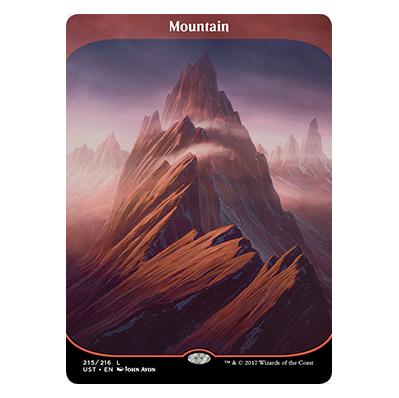 Montagne Unstable - Magic - jeux - Toulon - L'Atanière