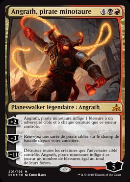Angrath, pirate minotaure - Les Combattants d'Ixalan - Magic - jeux - Toulon - L'Atanière