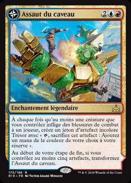 Assaut du caveau - Les Combattants d'Ixalan - Magic - jeux - Toulon - L'Atanière