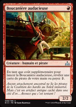 Boucanière audacieuse - Les Combattants d'Ixalan - Magic - jeux - Toulon - L'Atanière