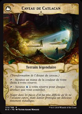 Caveau de Catlacan - Les Combattants d'Ixalan - Magic - jeux - Toulon - L'Atanière