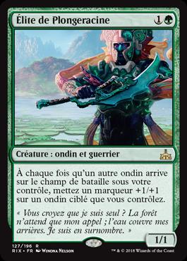 Élite de plongeracine - Les Combattants d'Ixalan - Magic - jeux- Toulon - L'Atanière
