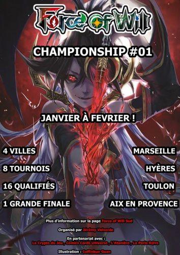Force of Will - Championship Sud - jeux - Toulon - L'Atanière