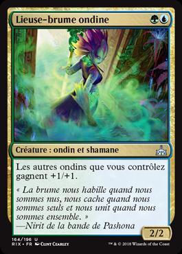 Lieuse-brume ondine - Les Combattants d'Ixalan - Magic - jeux- Toulon - L'Atanière