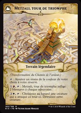 Metzali, tour de triomphe - Les Combattants d'Ixalan - Magic - jeux - Toulon - L'Atanière