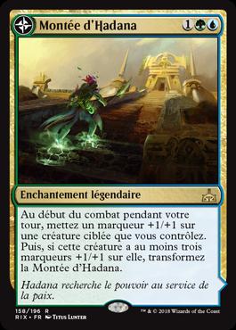 Montée d'Hadana- Les Combattants d'Ixalan - Magic - jeux - Toulon - L'Atanière