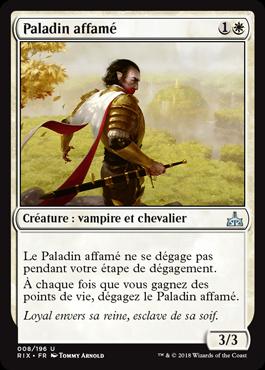 Paladin affamé - Les Combattants d'Ixalan - Magic - jeux - Toulon - L'Atanière