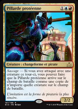 Pillarde protéenne - Les Combattants d'Ixalan - Magic - jeux - Toulon - L'Atanière